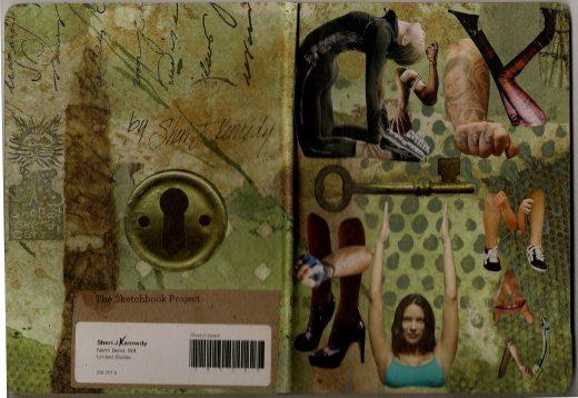 Sketchbook Project 2013 cover