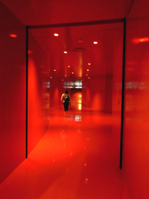 Traveling through the red room-Seattle Public Library
