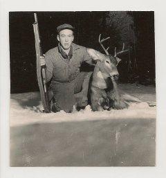 Dad Rollin deer hunting