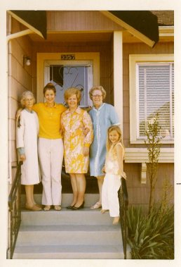 greatgrandma Ma 1st cousin once removed Noreen mom Lorraine great aunt (Noreen's mom) Hosley 71