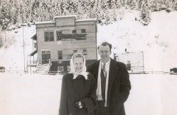 Mom and Dad Silverton BC 1st married