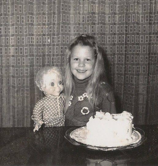 Sheri's bday in Miami w Mrs. Beasley doll Sheri