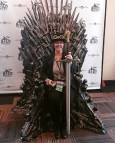 My turn on the throne!