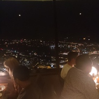 In Sky City Restaurant on the Needle