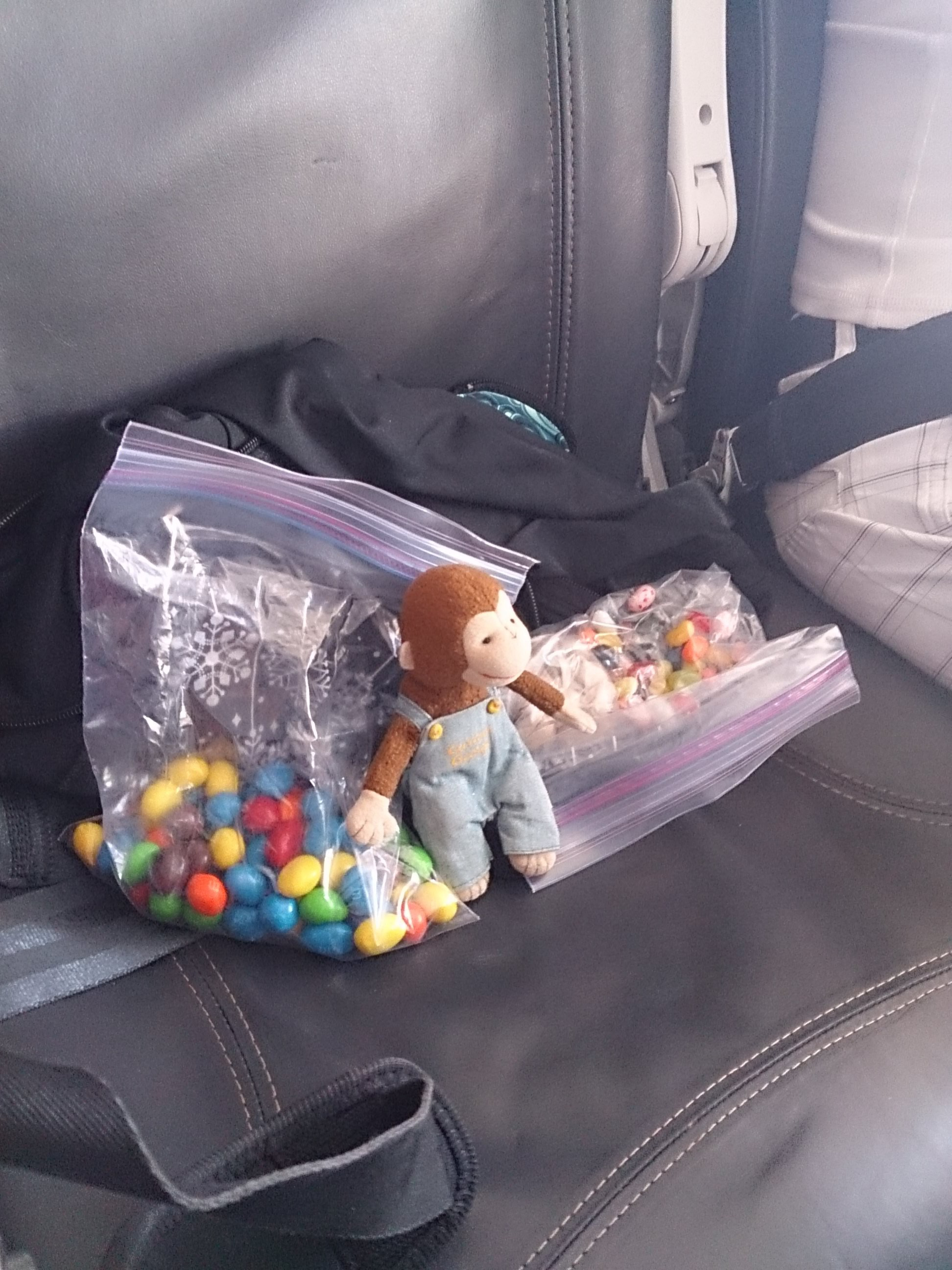 1 George loved his seat on Alaska Airlines – lots of leg room! And ...