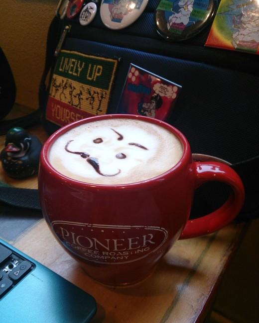 Mr Manush! in a cup