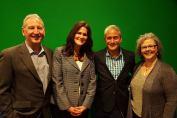 Doug, Jody, Greg Lougainis and Sheri