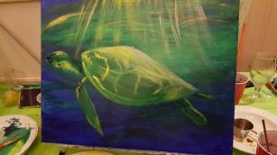Sheri's turtle freshly done