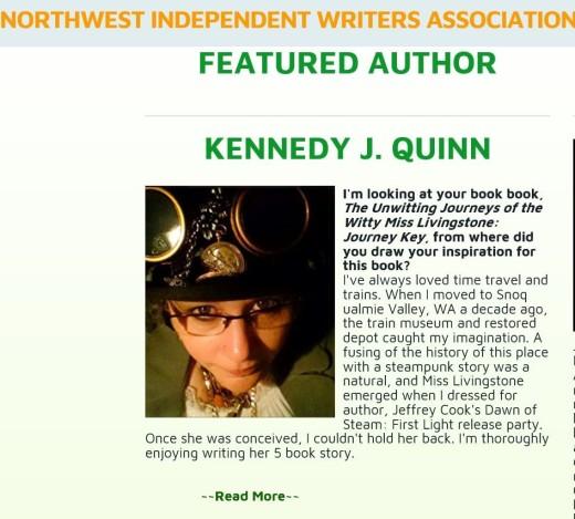 featured author clip